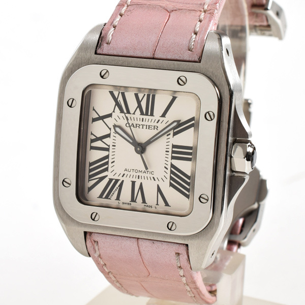 カルティエ Cartier サントス100 W20126X8 中古A品