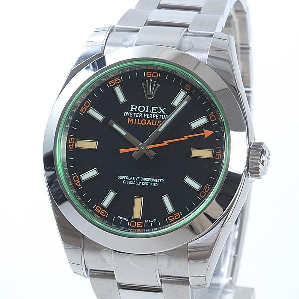 ロレックス ROLEX ミルガウス 116400GV 未使用品