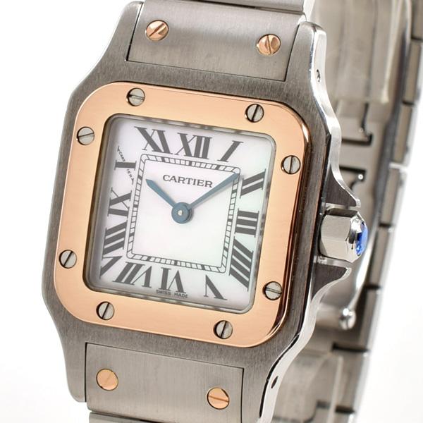 カルティエ Cartier サントスガルベSM アジア限定モデル W20103C4 中古A品