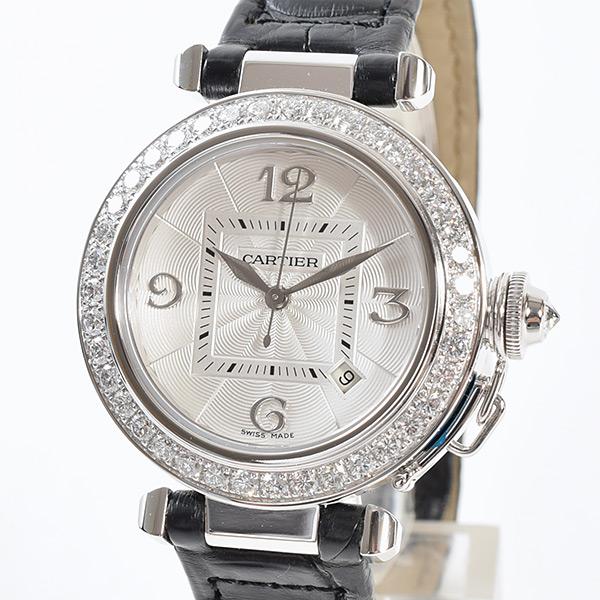 カルティエ Cartier パシャ32mm WJ111651 中古A品