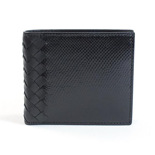 ボッテガヴェネタ BOTTEGA VENETA 2つ折り式財布 193642 中古A品