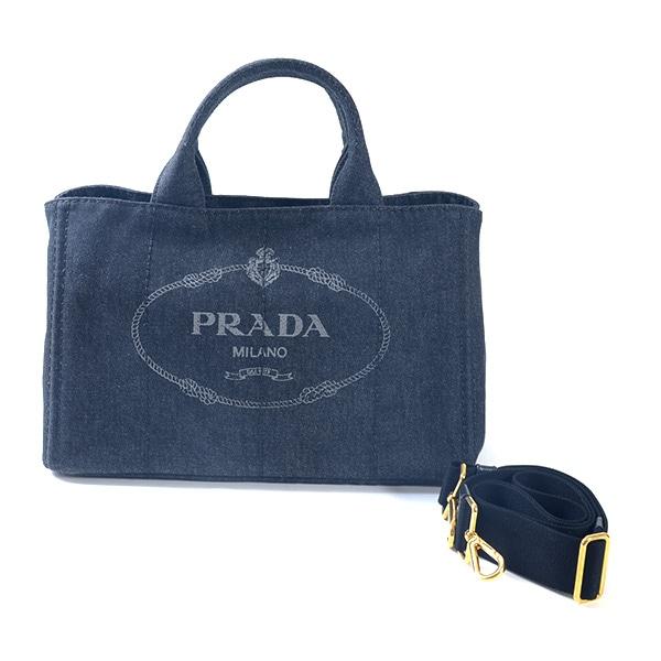 プラダ PRADA ファブリック ハンドバッグ 1BG642 中古A品