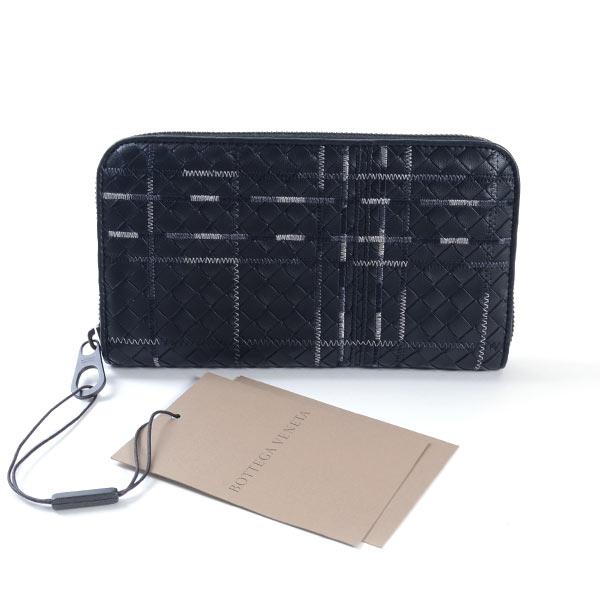 ボッテガヴェネタ BOTTEGA VENETA ラウンドファスナー式財布 114076 未使用品