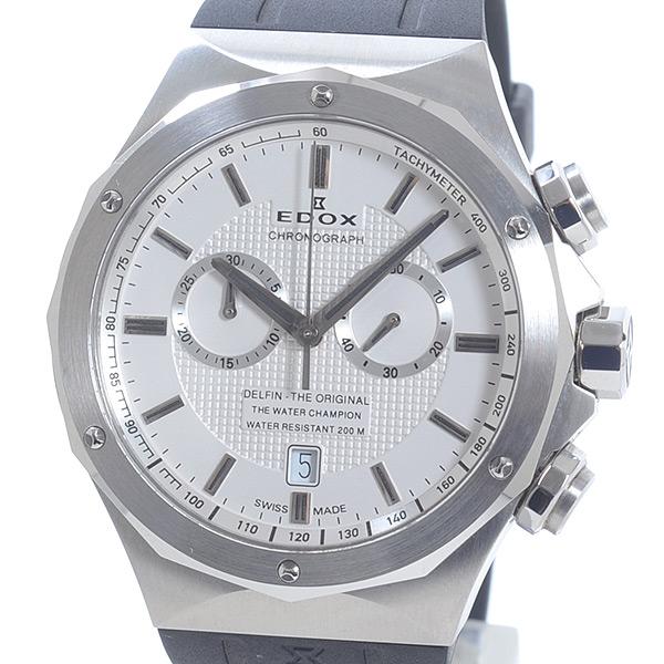 エドックス EDOX デルフィン 10107-3CA-AIN 中古A品