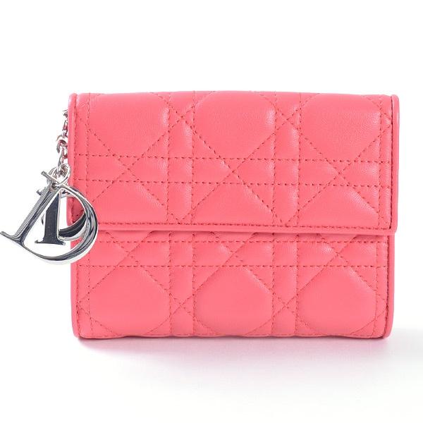ディオール Dior Wホック式財布 中古A品