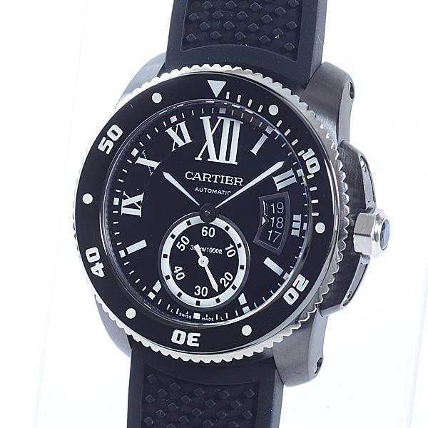 カルティエ Cartier カリブル ドゥ カルティエ ダイバー WSCA0006 中古A品