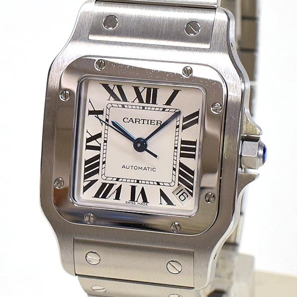 カルティエ Cartier サントスガルベxL W20098D6 中古A品