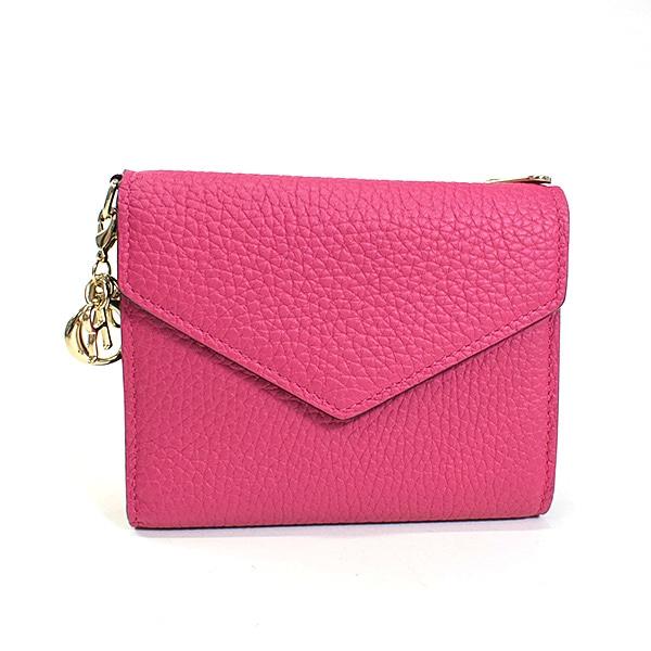 ディオール Dior 三つ折り財布 中古A品