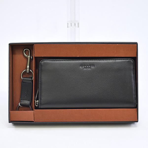 コーチ COACH ラウンドファスナー式財布 F58928 未使用品