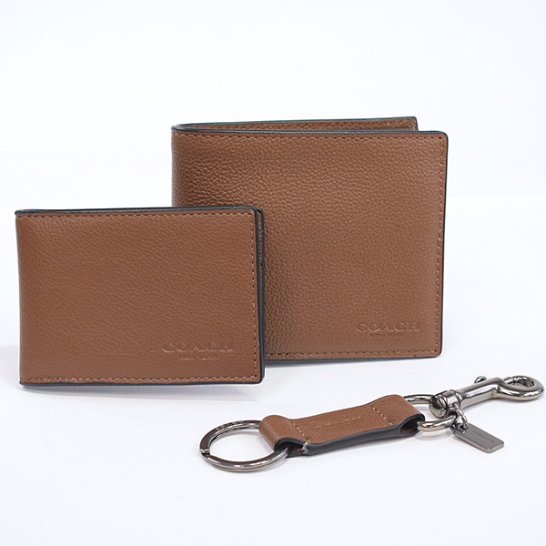 コーチ COACH 2つ折り式財布 F64118 未使用品