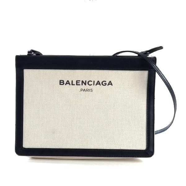 バレンシアガ BALENCIAGA ネイビーショルダー 339937 中古A品