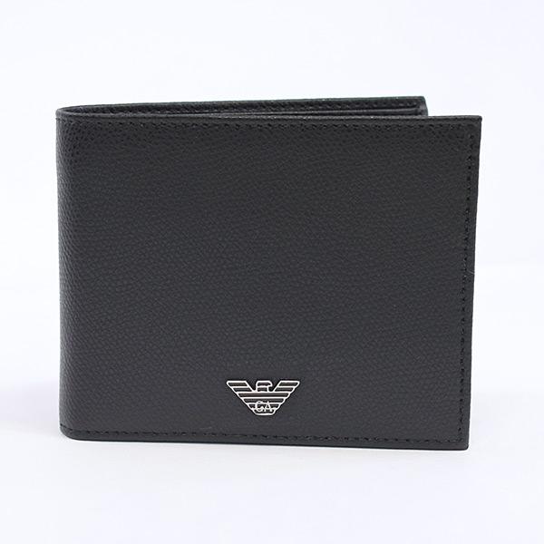 エンポリオアルマーニ Emporio Armani 二つ折り財布 YEM122 未使用品