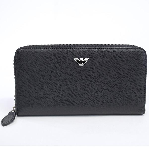 エンポリオアルマーニ Emporio Armani ラウンドファスナー式財布 YEME49 未使用品