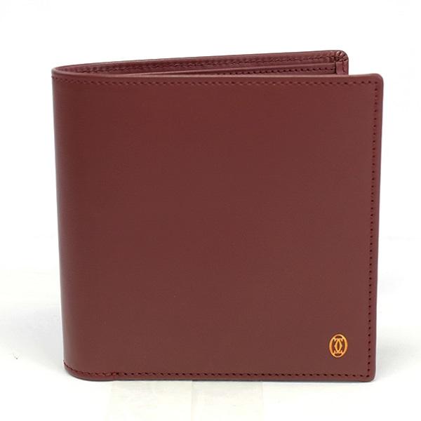 カルティエ Cartier 二つ折財布 未使用品
