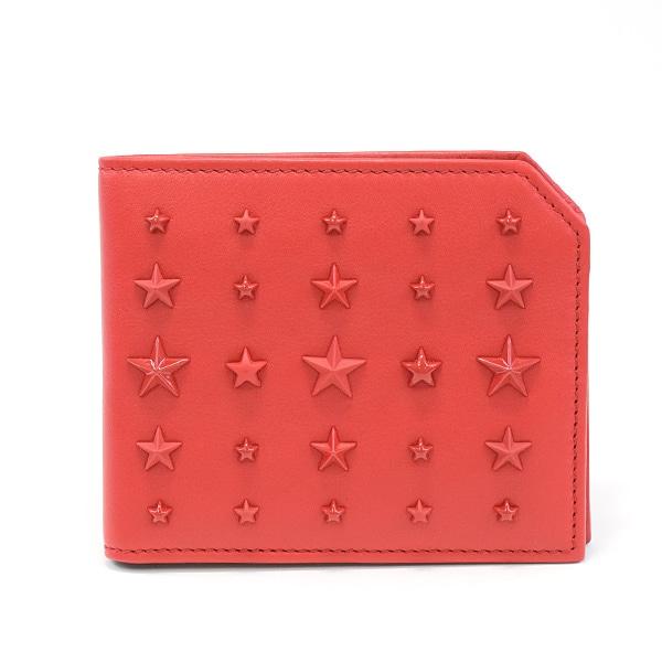 ジミーチュー JIMMY CHOO 二つ折り財布 未使用品