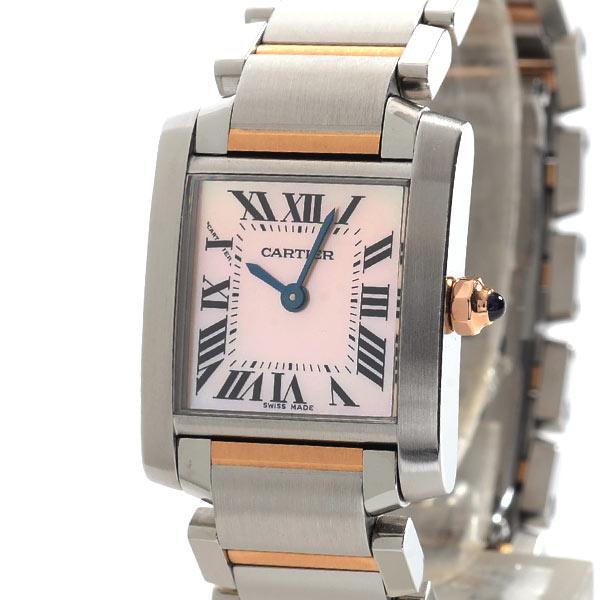 カルティエ Cartier タンクフランセーズSM W51027Q4 中古A品