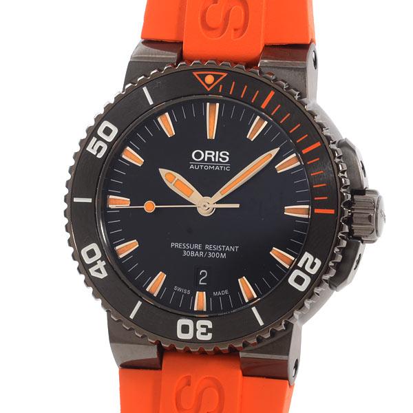 オリス ORIS アクイス デイト 733/7653/4259RO 未使用品