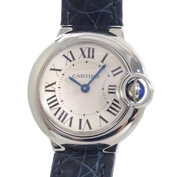 カルティエ Cartier バロンブルーSM W69018Z4 中古A品