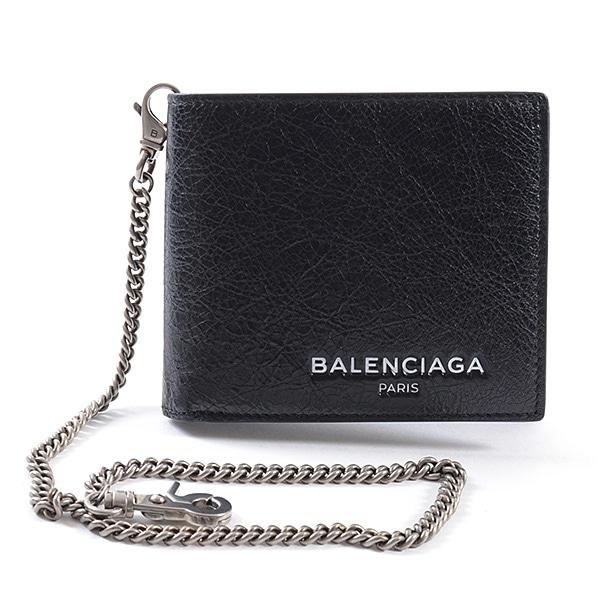 バレンシアガ BALENCIAGA エクスプローラースクエアウォレットチェーン 504933 未使用品