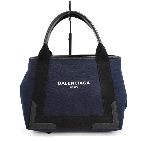 バレンシアガ BALENCIAGA ネイビーカバスS 339933 未使用品