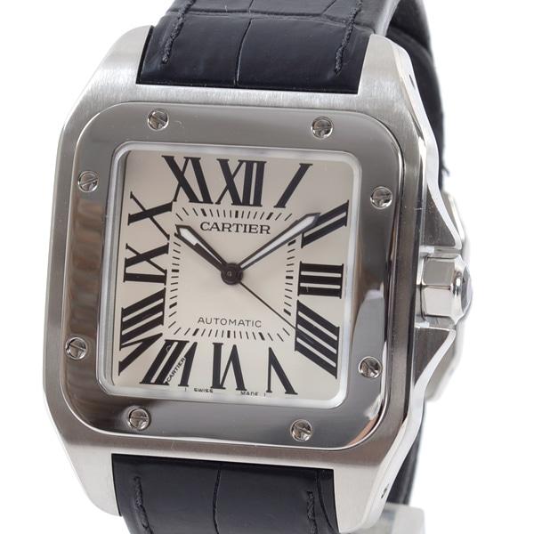 カルティエ Cartier サントス100 W20073X8 中古A品