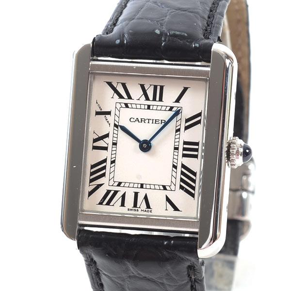 カルティエ Cartier タンクソロSM WA100030 中古A品