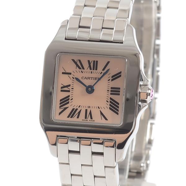 カルティエ Cartier サントスドゥモワゼルSM W25075Z5 中古A品