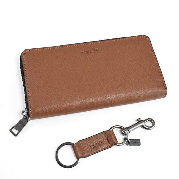 コーチ COACH ラウンドファスナー式財布/キーリング F58928 未使用品