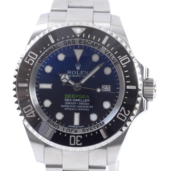ロレックス ROLEX シードゥエラー ディープシー ディーブルー 116660 D-BLUE 中古A品