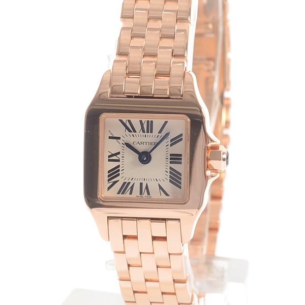 カルティエ Cartier ミニサントスドゥモワゼル W25077X9 中古A品