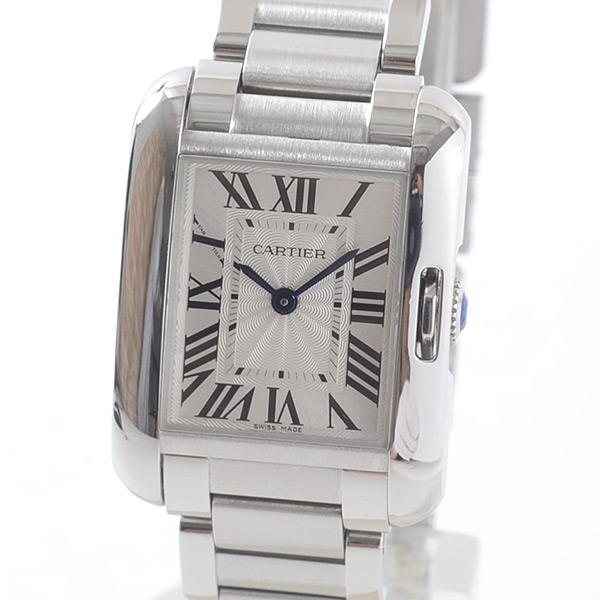 カルティエ Cartier タンク アングレーズ ウォッチSM W5310022 中古A品