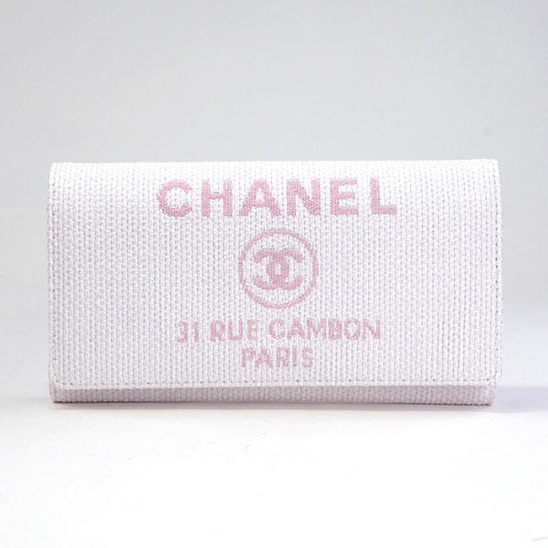 シャネル CHANEL 長財布 A80053 未使用品