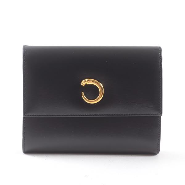 カルティエ Cartier 3つ折り式財布 中古A品