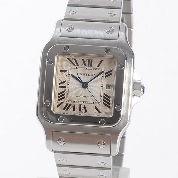 カルティエ Cartier サントスガルベLM W20055D6 中古B品