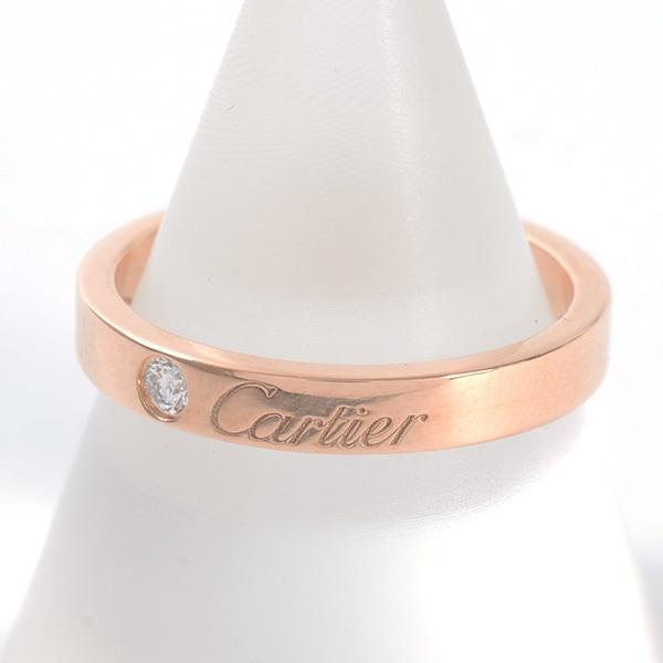 カルティエ Cartier エングレーブドウェディングリング B4086452 中古A品