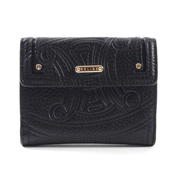 セリーヌ CELINE Wホック式2つ折り式財布 中古A品