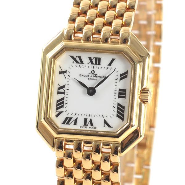 ボームアンドメルシー BAUME&MERCIER レディース腕時計 18259 中古A品