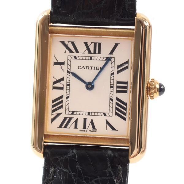 カルティエ Cartier タンクソロSM W5200002 中古A品