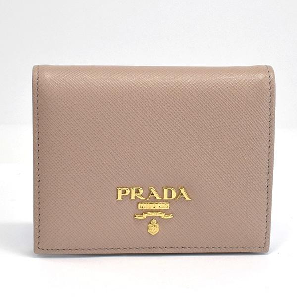 プラダ PRADA 二つ折財布 1MV204 未使用品