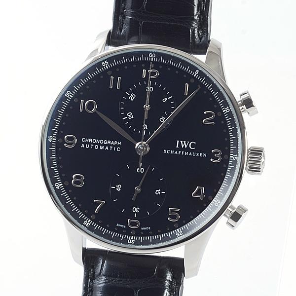アイダブリュシー IWC ポルトギーゼ・クロノ・オートマティック IW371438 中古A品