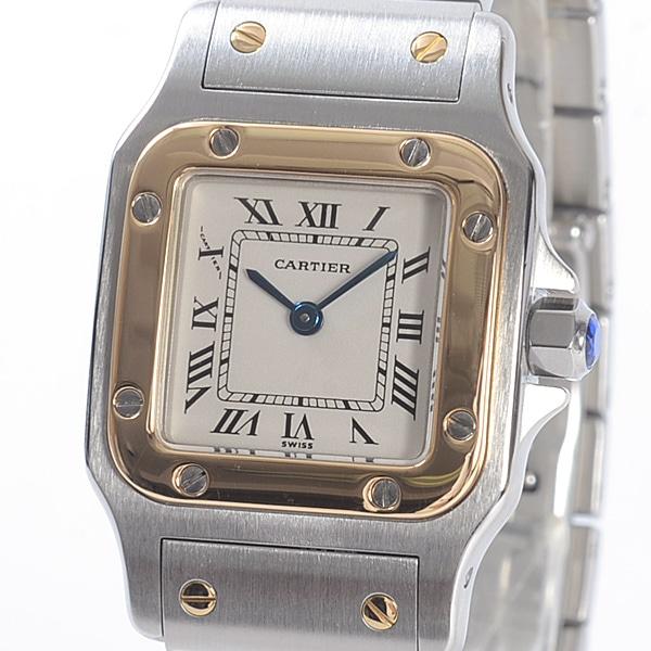カルティエ Cartier サントスガルベSM W20012C4 中古A品