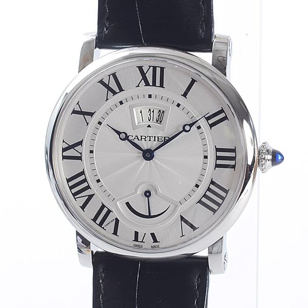 カルティエ Cartier ロトンド パワーリザーブ W1556369 中古A品
