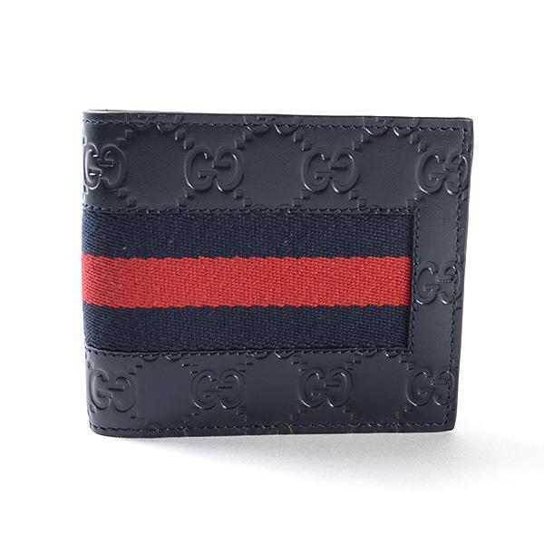 グッチ GUCCI 2つ折り式財布 408826 未使用品