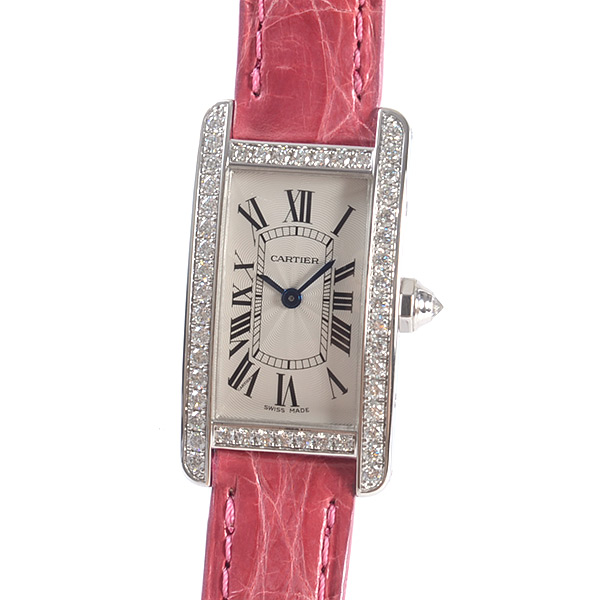 カルティエ Cartier タンクアメリカンSM WJTA0003 中古A品