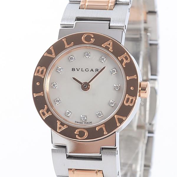 ブルガリ BVLGARI レディース腕時計 BBP23SG 中古A品