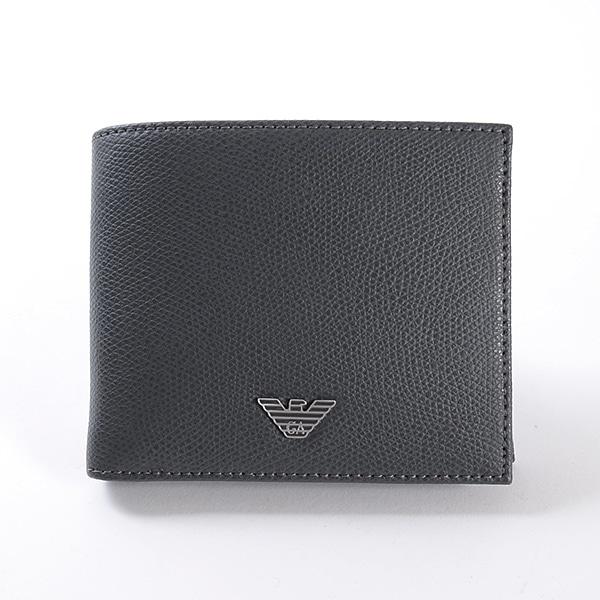 エンポリオアルマーニ Emporio Armani 二つ折り財布 YEM122-YAQ2E 未使用品