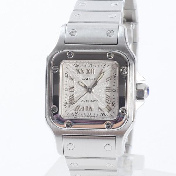 カルティエ Cartier サントスガルベSM W20044D6 中古A品