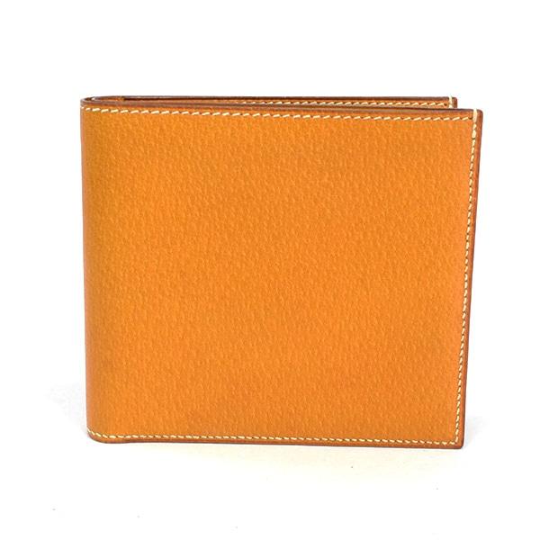 エルメス HERMES 2つ折り式財布 中古a品