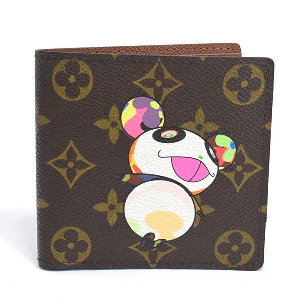 ルイヴィトン LOUISVUITTON 2つ折り式財布 M61666 中古A品