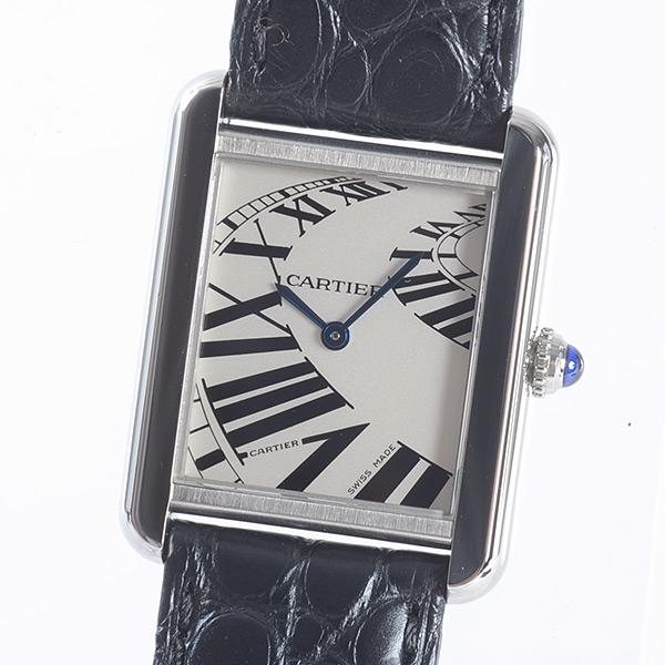 カルティエ Cartier タンクソロ SM W5200018 中古A品